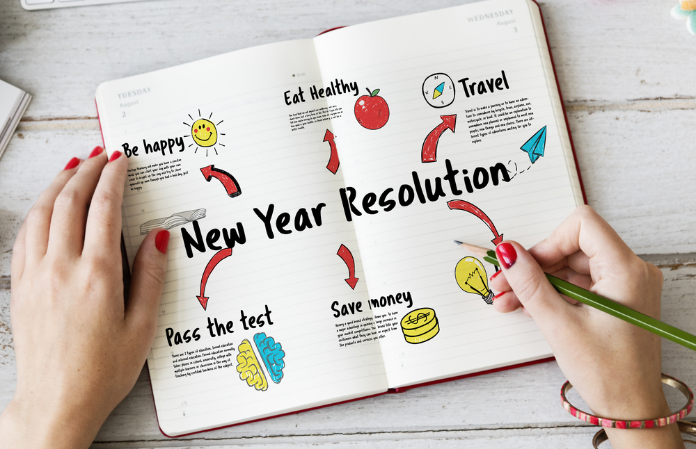 How best to keep your New Years resolutions.