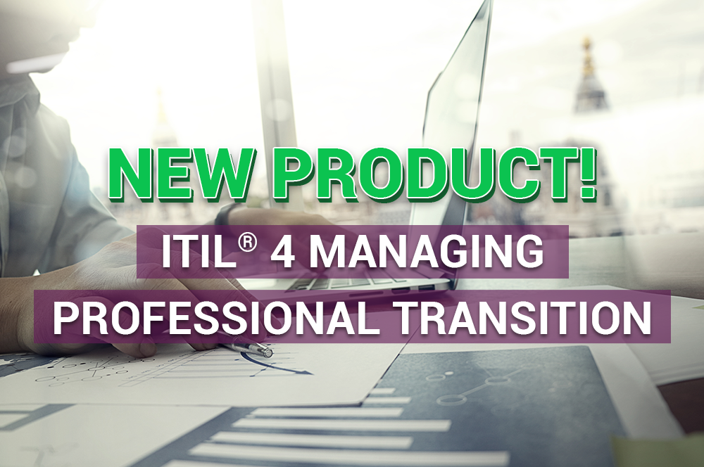 New e-learning launch: ITIL 4 Managing Professional Transition